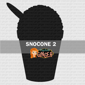 Snocone 2 Wood Cut Out Kit