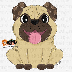 Pug Full Cutout and Kits