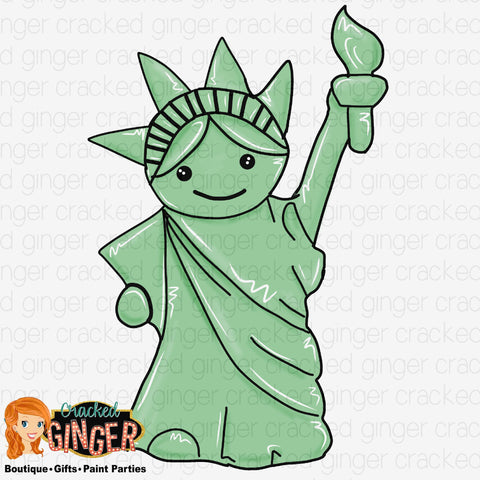 Statue of Liberty Template