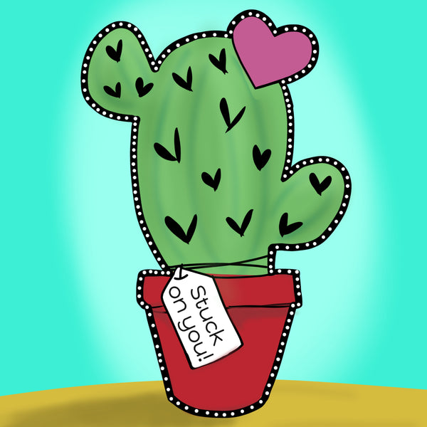 Stuck On You Cactus