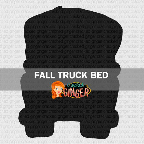 Fall Truck Bed Wood Cut Out Kit