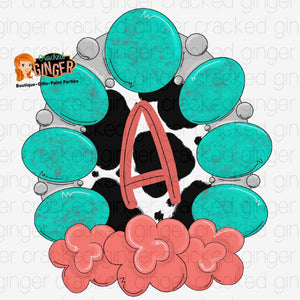 Western Turquoise Stones Cutout and Kits