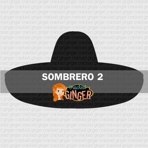 Sombrero2 Wood Cut Out Kit