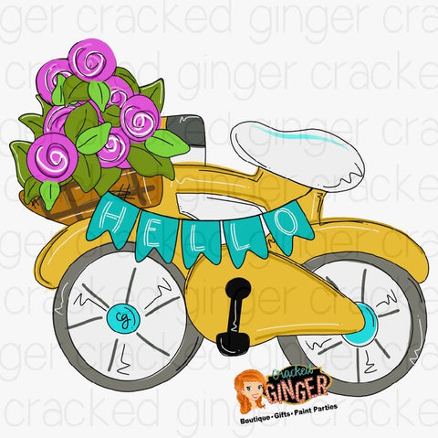 Spring Bike Cutout and Kits