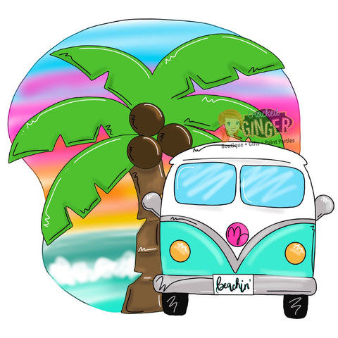 Beachin' VW Van