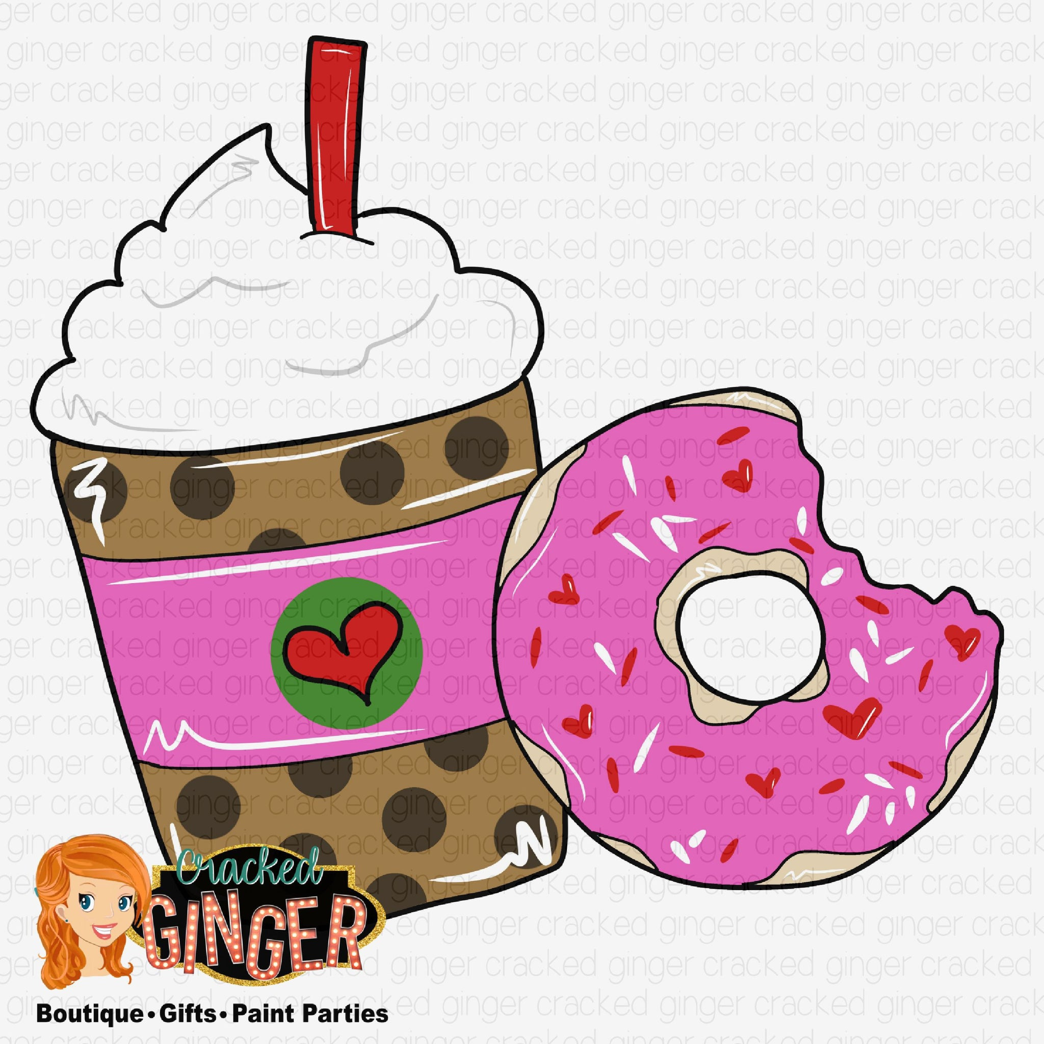 Donut and Frappe