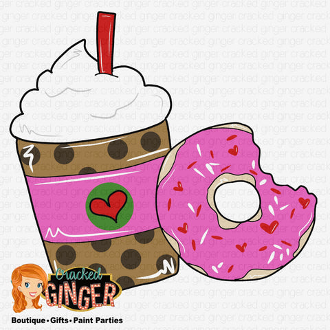 Donut and Frappe Template
