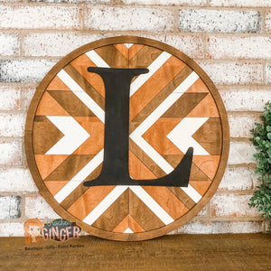 PREORDER Barn Quilt Personalized Wooden Sign