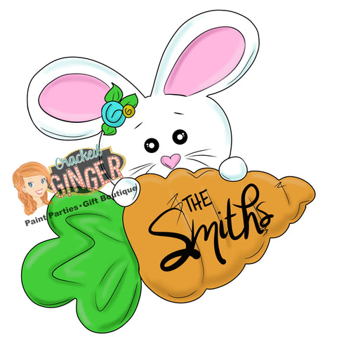 Sweet Bunny with Carrot