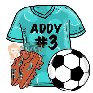 Soccer Uniform Template