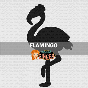 Flamingo Wood Cut Out Kit