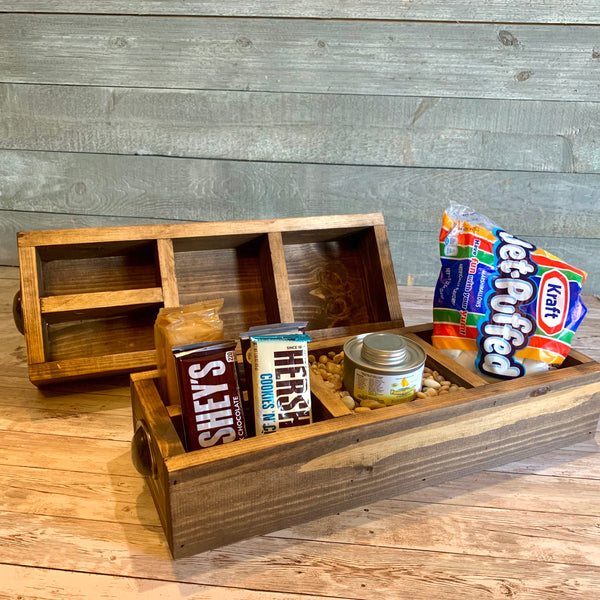 Wooden S'mores Box