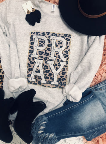 Pray Ash Sweatshirt