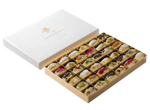 Ex. Large White Choc Dates - The Date Parlour