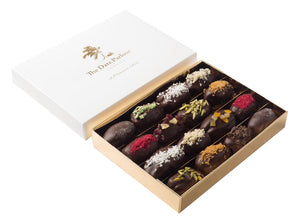 Large Dark Choc Dates - The Date Parlour