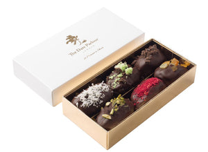 Small Dark Choc Dates - The Date Parlour