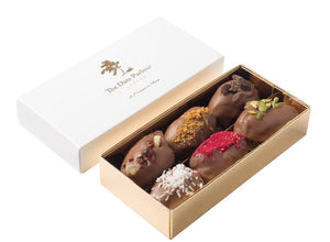 Small Milk Choc Dates - The Date Parlour