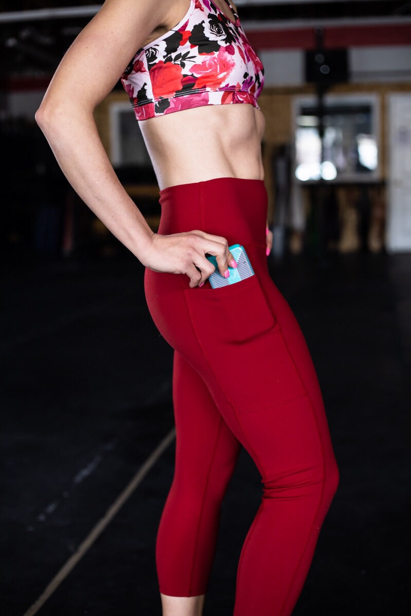 Unrivaled Capri - rebel red