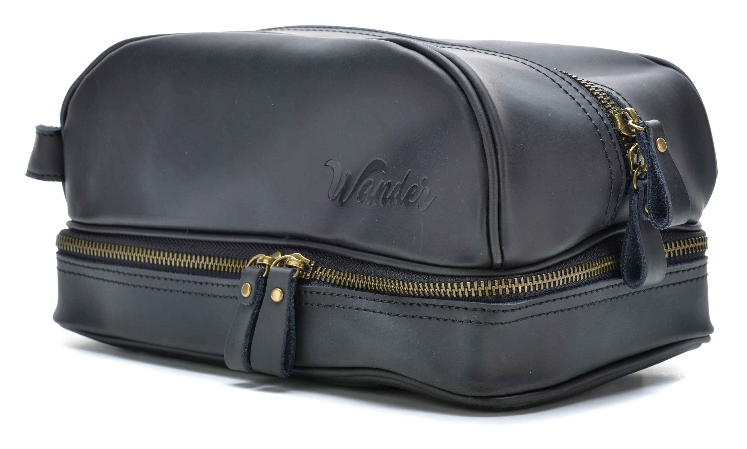 2b1741450ef0 Black Toiletry Bag colorway - Wander Travel and Supply