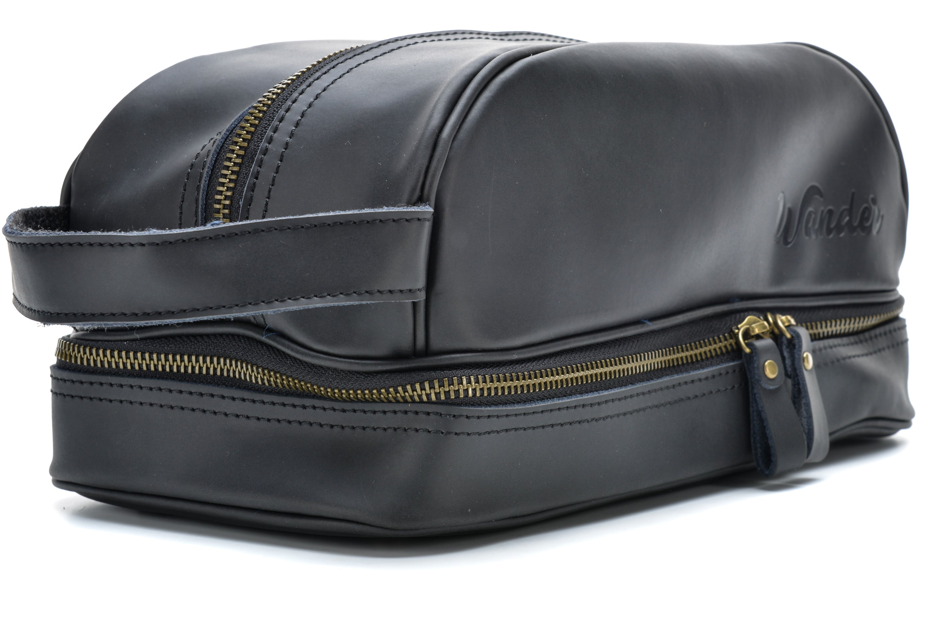 Black Toiletry Bag colorway - Wander Travel and Supply fde4982cb7deb