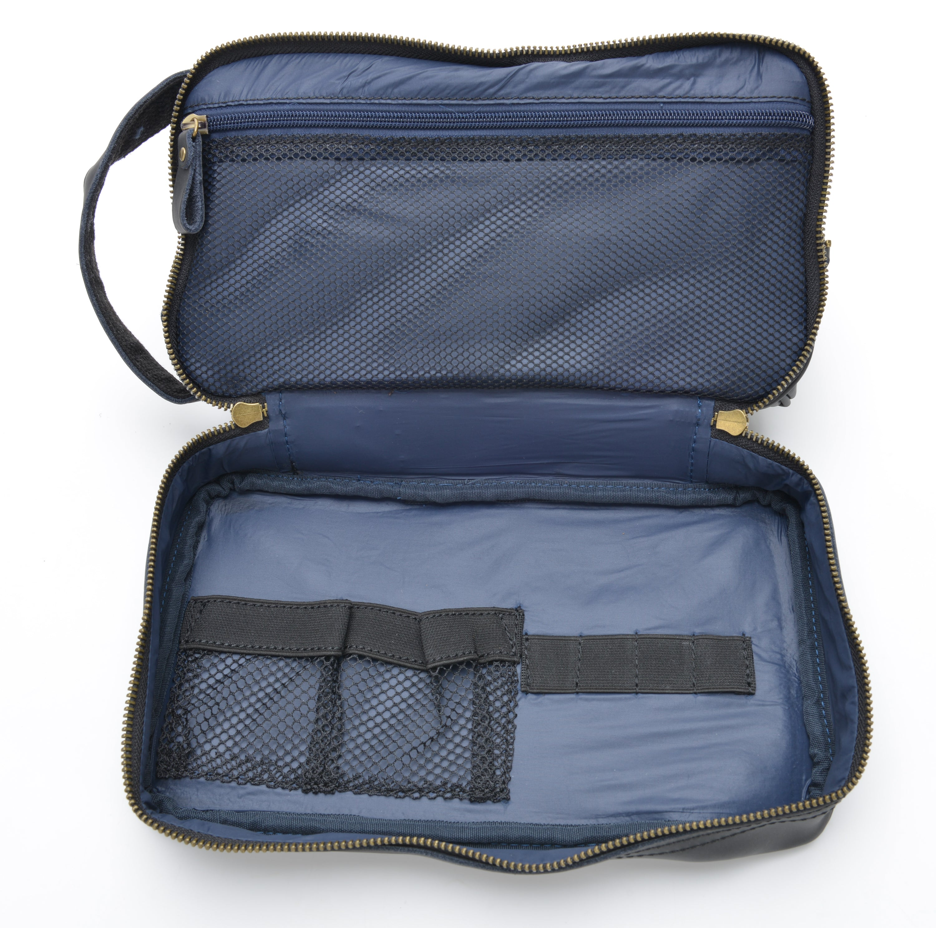 Black Toiletry Bag colorway - Wander Travel and Supply