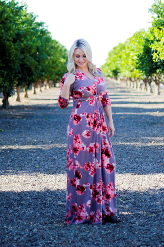 LINDSEY FLORAL MAXI DRESS