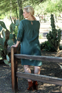 EMERALD DESERT DRESS