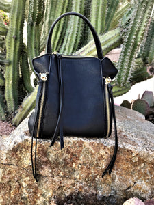 KYLEE CONVERTIBLE BACKPACK PURSE IN BLACK