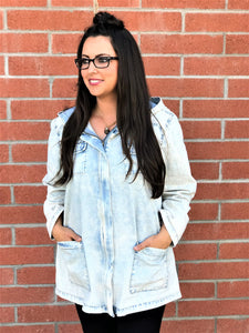 LACIE ICE DENIM JACKET