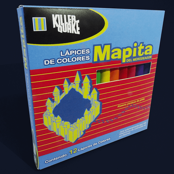 Colores Mapita del Merodeador - Killer Quake