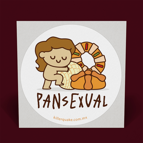 Sticker Pansexual - Killer Quake