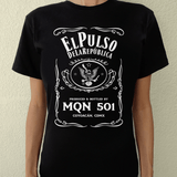 Playera UNISEX Pulso No. 7 (negra) - Killer Quake