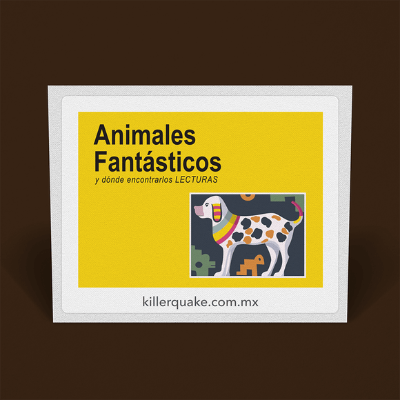Sticker Animales Fantásticos - Killer Quake