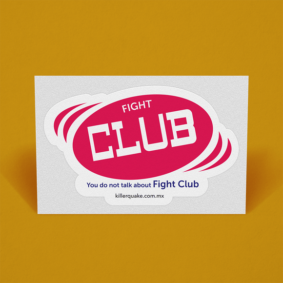 Sticker Fight Club - Killer Quake