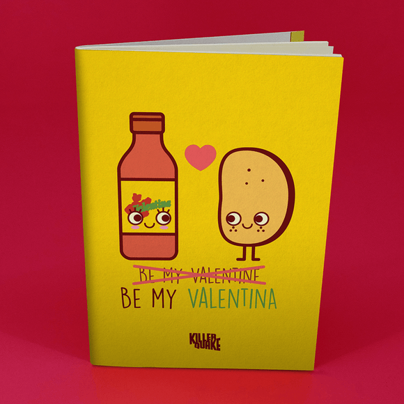 Libreta Be my Valentina
