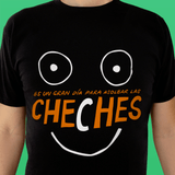 Playera UNISEX Cheches (negra)