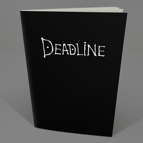 Libreta Deadline - Killer Quake
