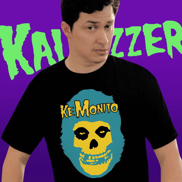Playera UNISEX Ke Monito (negra) - Killer Quake