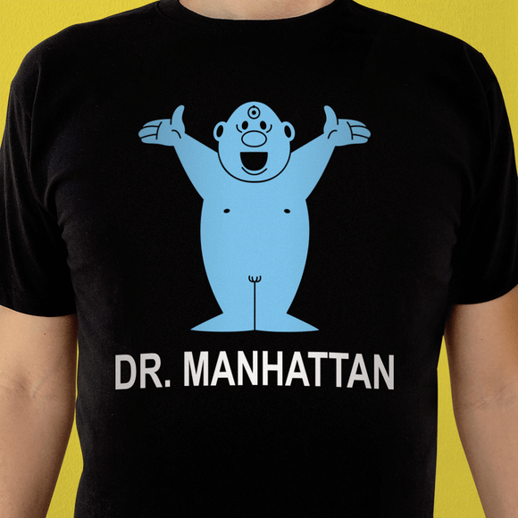 Playera UNISEX Dr. Manhattan - Killer Quake