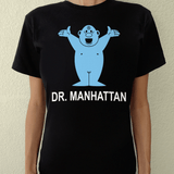 Playera UNISEX Dr. Manhattan (negra) - Killer Quake