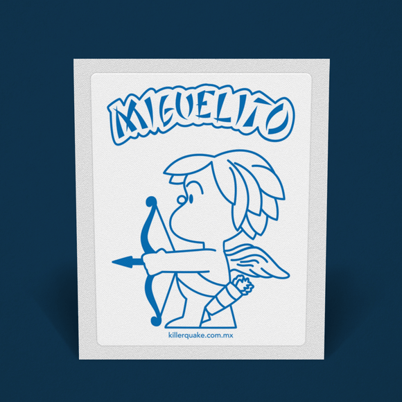 Sticker Miguelito - Killer Quake