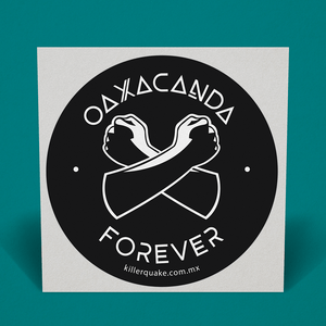 Sticker Oaxacanda - Killer Quake