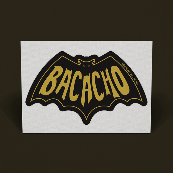 Sticker Bacacho - Killer Quake