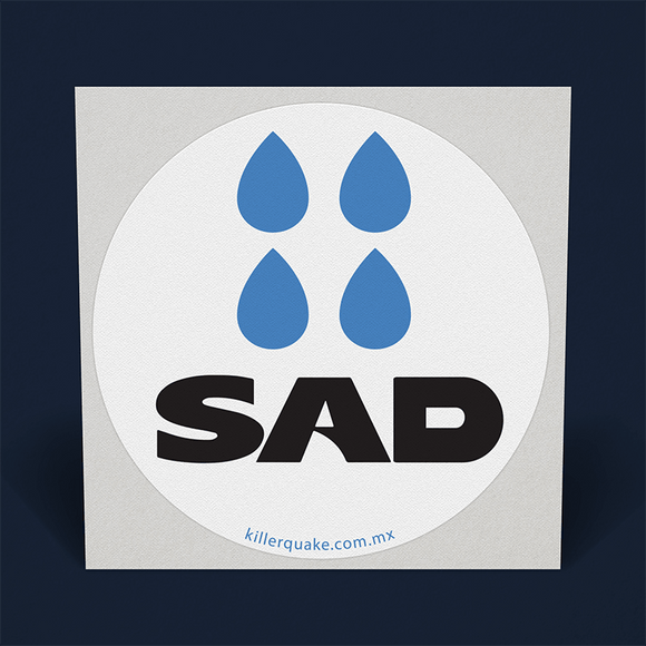 Sticker Sad - Killer Quake