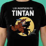 Playera UNISEX Pachuco Adventures (negra) - Killer Quake