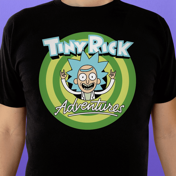 Playera UNISEX Tiny Rick - Killer Quake