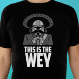 Playera UNISEX This is the wey (negra) - Killer Quake