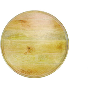 Mango Wood Round Tray