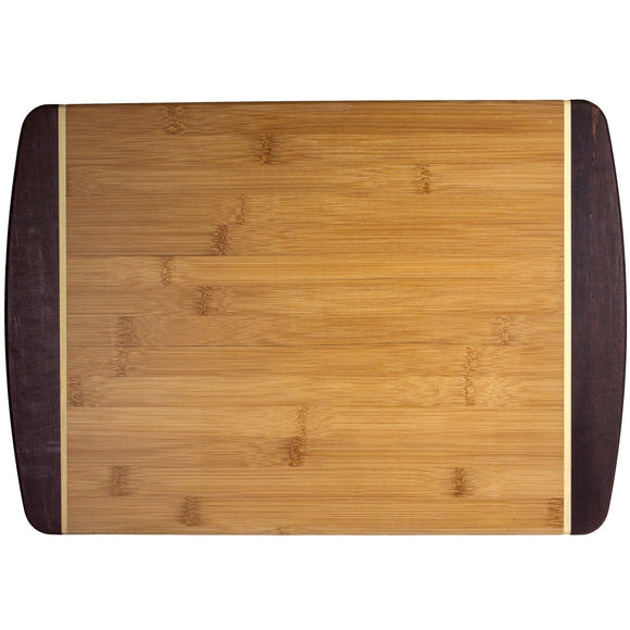 Bamboo Black Tip Medium Cutting Board