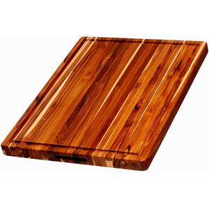 Teak  Desert Sunrise Block Rectangle with Grips and gutter